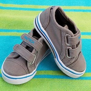 Nautica Sneakers Toddler 5 Velcro Gray Pre-Owned